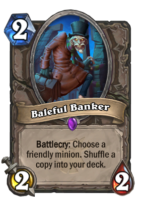 Baleful Banker Card Image