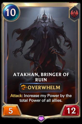 Atakhan, Bringer of Ruin Card Image