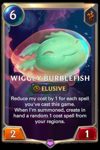 Wiggly Burblefish Card Image