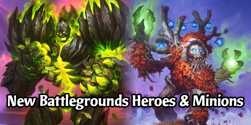 Tickatus & Greybough Are Joining Hearthstone's Battlegrounds Alongside 2 New Demon Minions