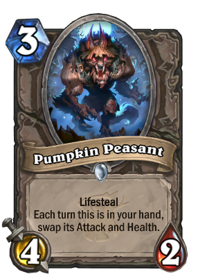 Pumpkin Peasant Card Image