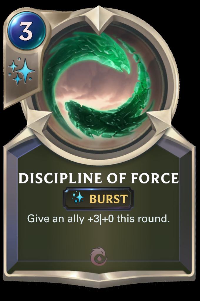 Discipline of Force Card Image