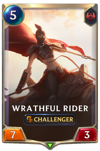 Wrathful Rider Card Image