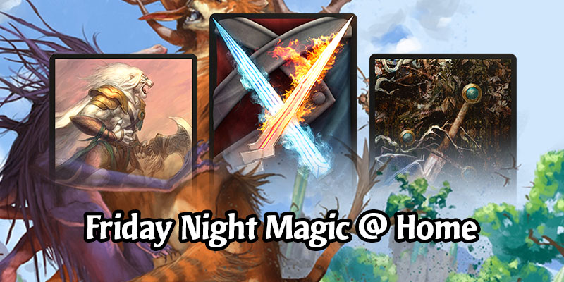 Play Any Card in Standard Today - Friday Night Magic on MTG Arena