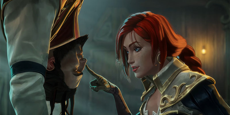 New Tales of Runeterra Video for Bilgewater - Featuring Miss Fortune & Twisted Fate