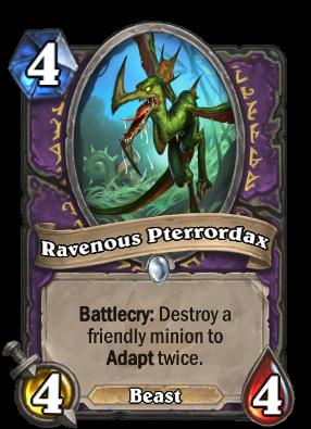 Ravenous Pterrordax Card Image