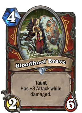 Bloodhoof Brave Card Image
