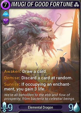 Imugi of Good Fortune Card Image
