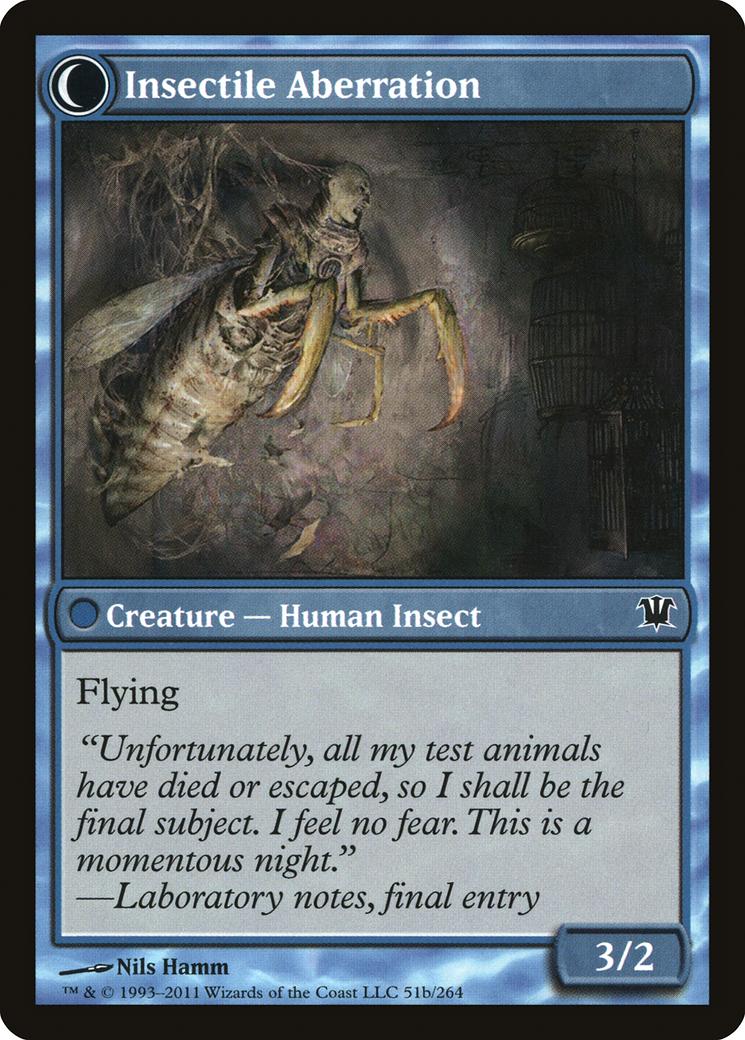 Delver of Secrets // Insectile Aberration Card Image