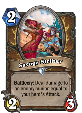 Savage Striker Card Image