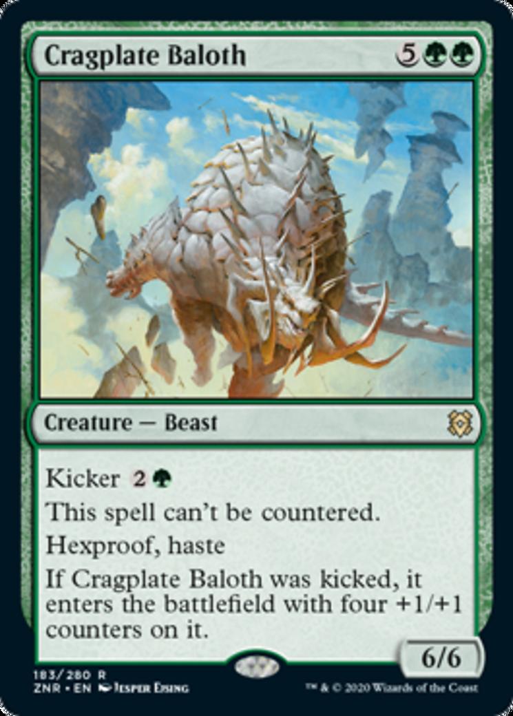 Cragplate Baloth Card Image
