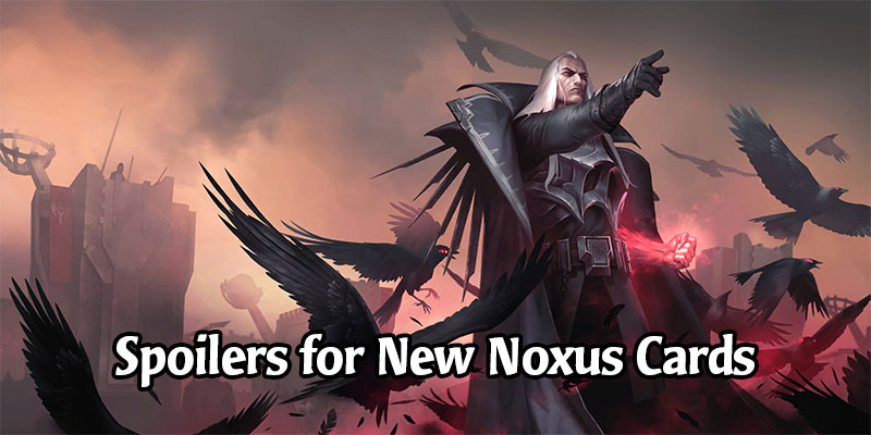 Swain is Legend of Runeterra's Latest Champion - New Noxus Cards Revealed