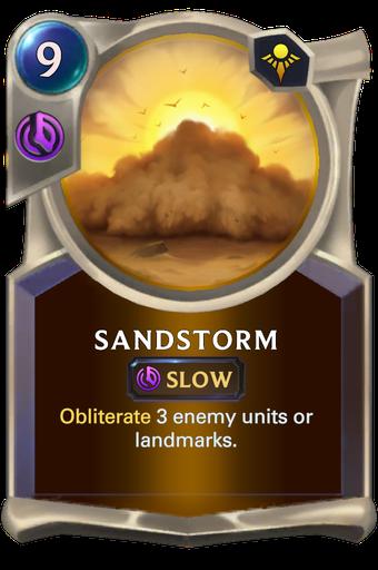 Sandstorm Card Image