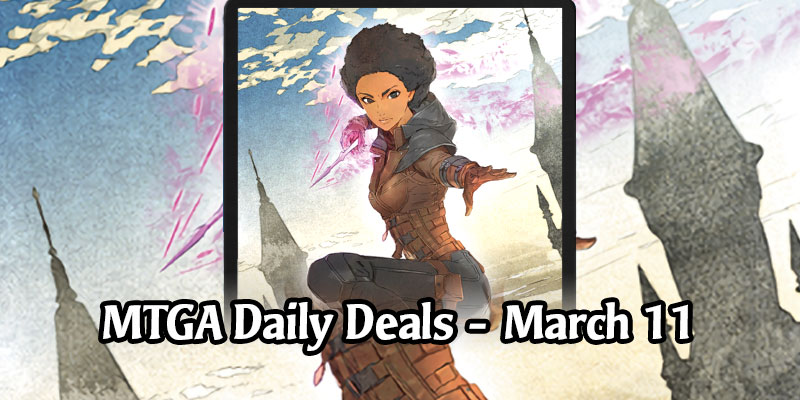 Kaya's Japanese Art Sleeve is 73% Off - MTG Arena Daily Deals for May 11, 2020