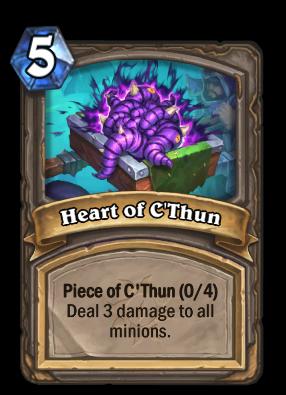 Heart of C'Thun Card Image