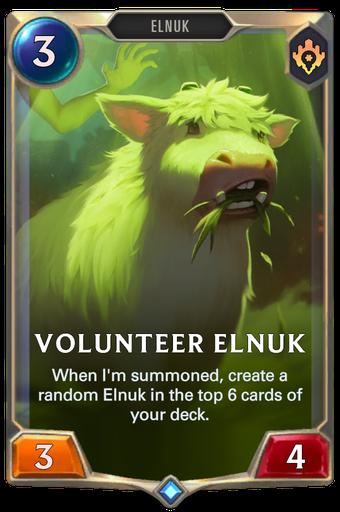 Volunteer Elnuk Card Image