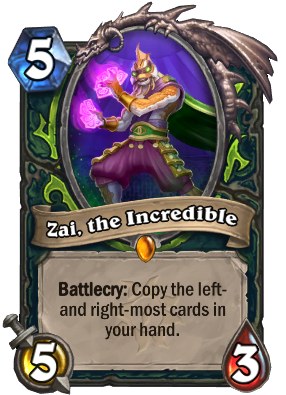 Zai, the Incredible Card Image