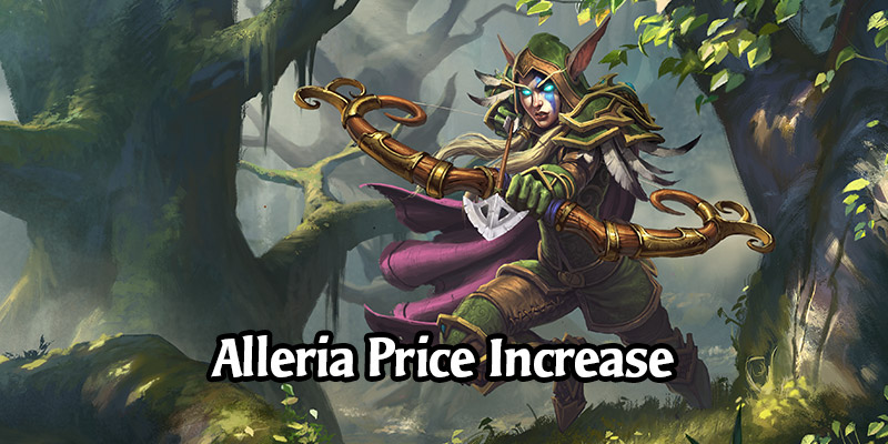 Alleria's Returning Hunter Hero Skin Price Increases, Is Added to the In-Game Shop for Gold