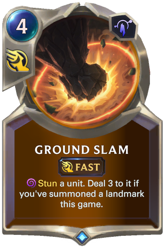 Ground Slam Card Image