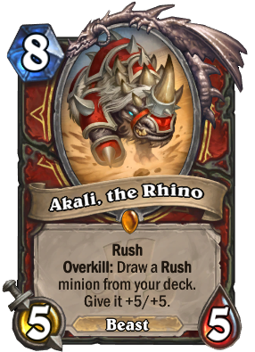 Akali, the Rhino Card Image