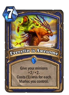 Everyfin is Awesome Card Image