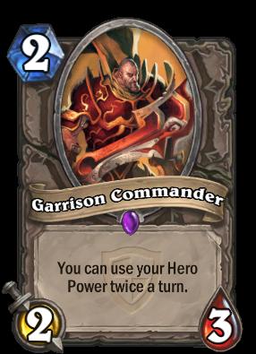 Garrison Commander Card Image
