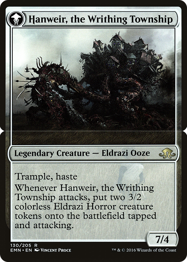 Hanweir, the Writhing Township Card Image