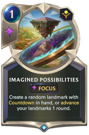 Imagined Possibilities Card Image