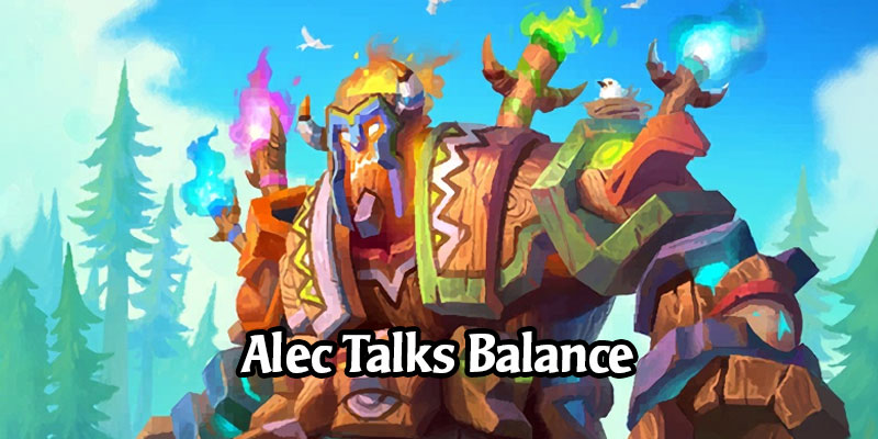 Alec Dawson Explains the Reasoning Behind the September Hearthstone Balance Changes