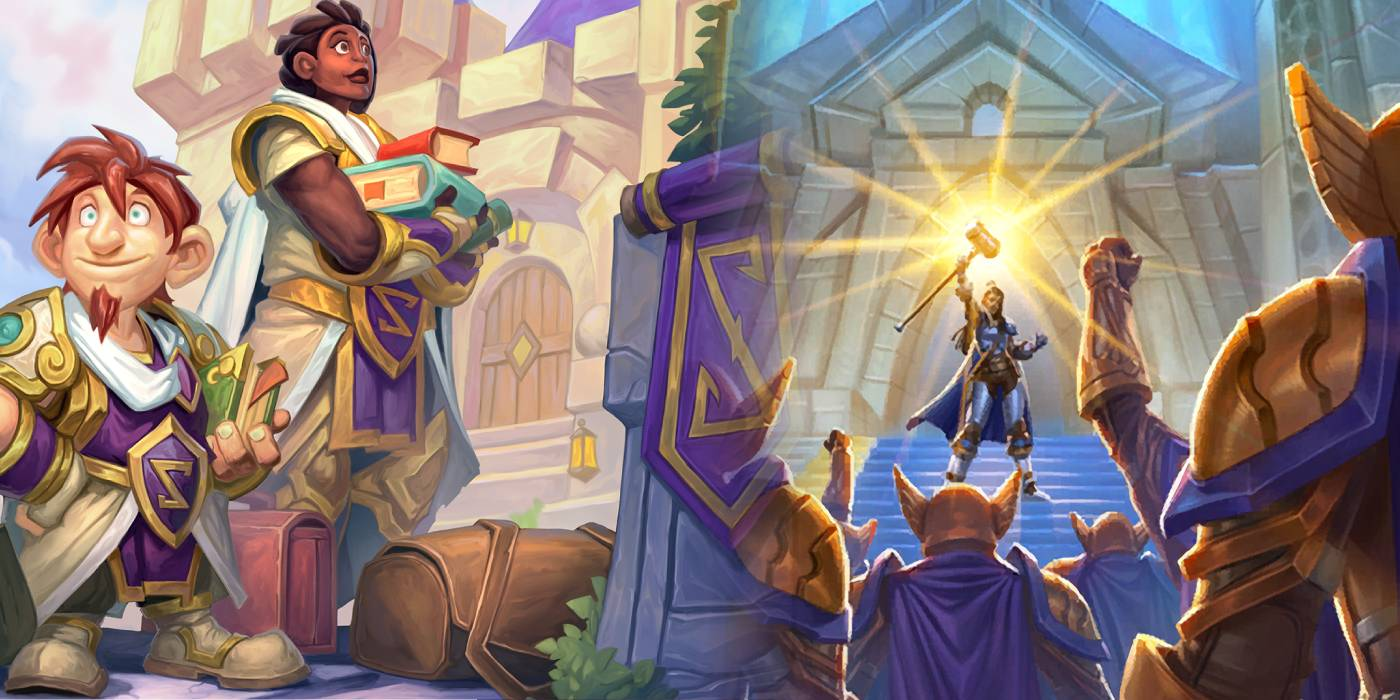 Questing in Stormwind - Better Understanding Paladin's Rise to the Occasion Legendary Questline