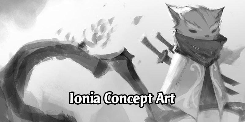 Exploring Early Concept Art of Ionia