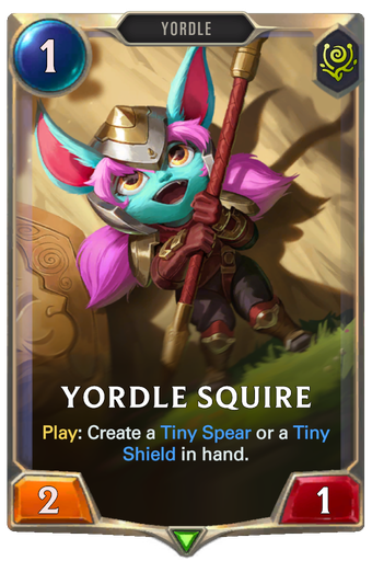 Yordle Squire Card Image