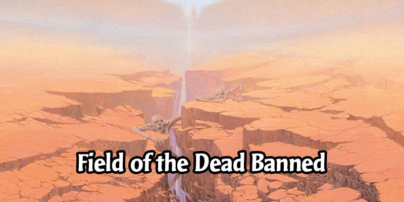 Field of the Dead is Now Banned in Historic