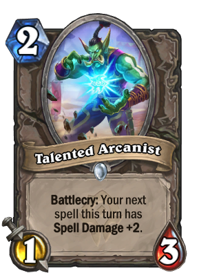 Talented Arcanist Card Image