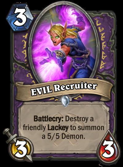 EVIL Recruiter Card Image