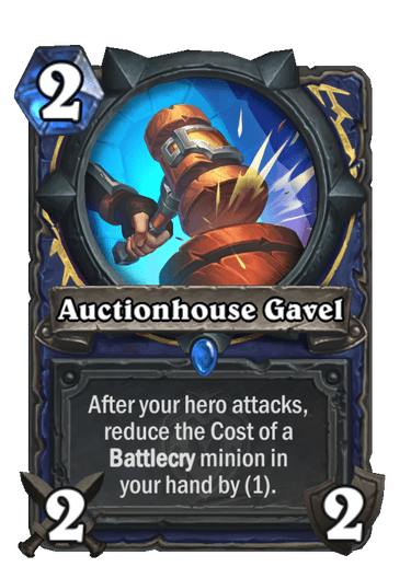 Auctionhouse Gavel Card Image