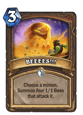 BEEEES!!! Card Image
