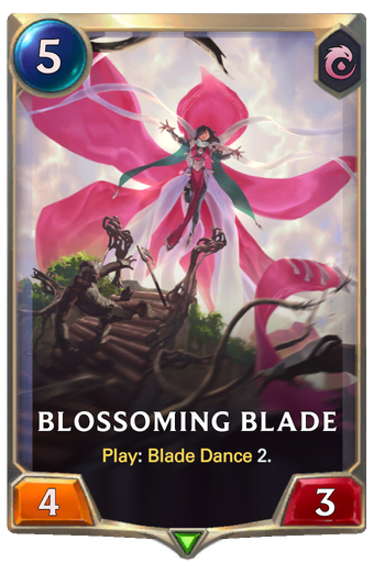 Blossoming Blade Card Image