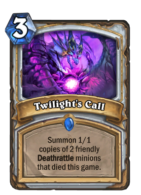 Twilight's Call Card Image