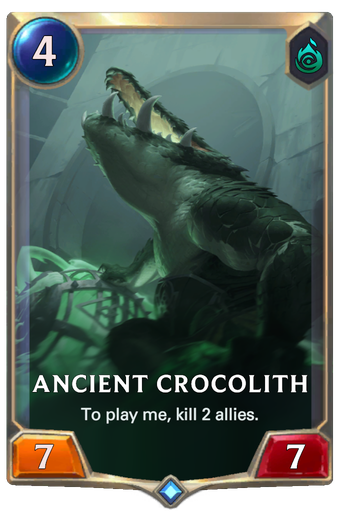 Ancient Crocolith Card Image