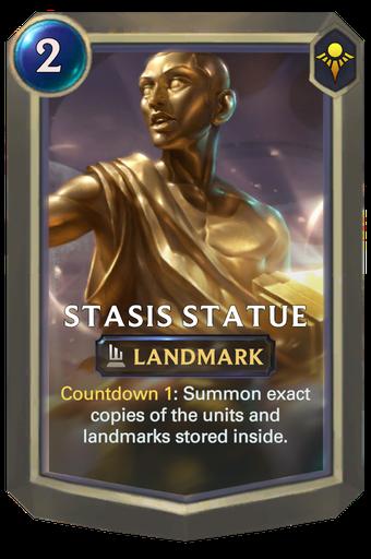 Stasis Statue Card Image