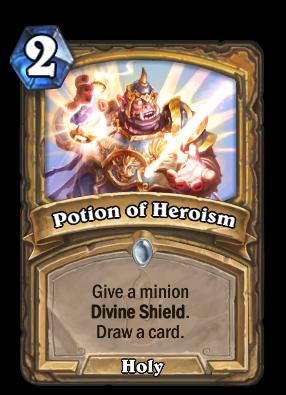 Potion of Heroism Card Image