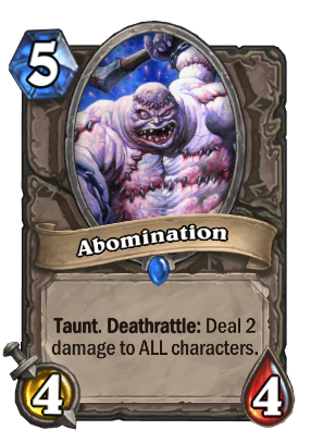 Abomination Card Image