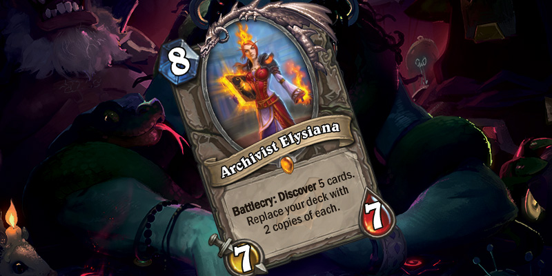 New Legendary Minion - Archivist Elysiana
