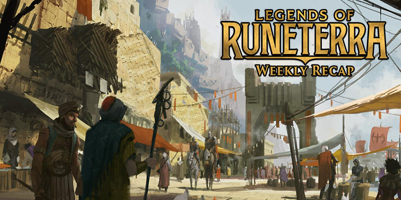 Legends of Runeterra Popular Decks, Concept Art, and Developer Insights for the Week