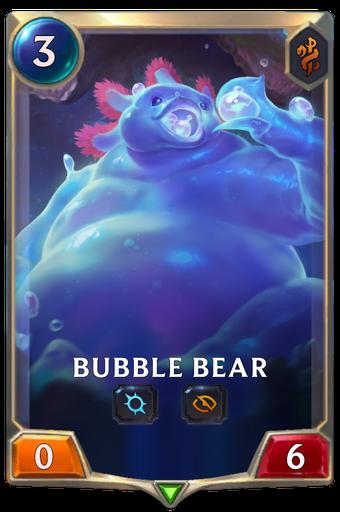 Bubble Bear Card Image