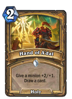 Hand of A'dal Card Image