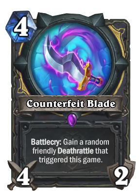 Counterfeit Blade Card Image