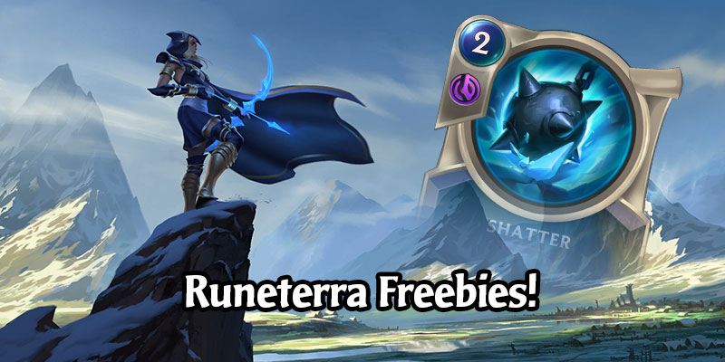 Legends of Runeterra Adds Login Rewards for the First Week of Logins to Help Player Progression Including a New Deck