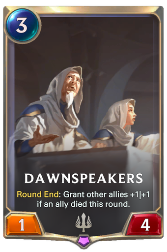 Dawnspeakers Card Image